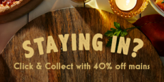 40% Off Click & Collect