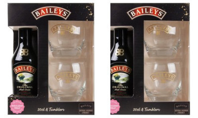 Free Baileys Bottle & Glasses Gift Set