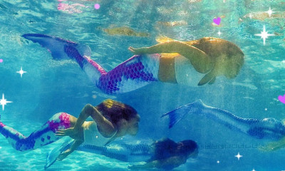 Win Mermaid Swimming Classes