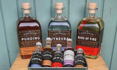 Win The Atlantic Distillery Organic Gin Selection
