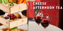 Cheese Afternoon Tea for Two for £30