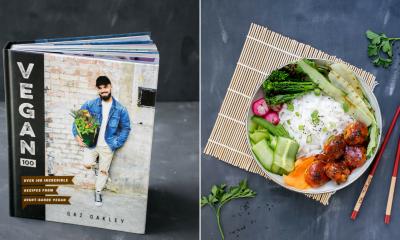 Win a Copy of Gaz Oakley's Vegan 100 Cookbook