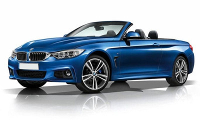 Win a Blue BMW 4 Series Cabriolet M Sport+ worth £47,000