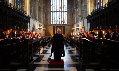 Evensong at King's College | Cambridge