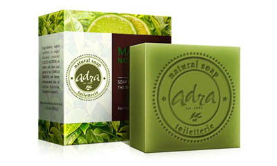 Free Green Tea & Lime Soap