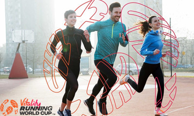 Free £100 Digital Goody Bag from Vitality Running World Cup