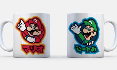 2 Free Super Mario Mugs