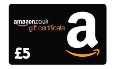 Free £5 Amazon Vouchers