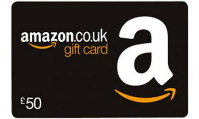 Win a £50 Amazon Voucher