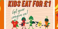 Half Term: Kids Eat for £1