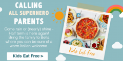 Half Term: Kids Eat Free