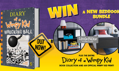 Win a Little Folks Furniture Bedroom Bundle and Wimpy Kid Book Collection