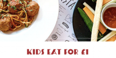 Half Term: Kids Eat For £1 Only