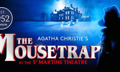 Win Two Tickets to The Mousetrap & a £100 Bar Tab