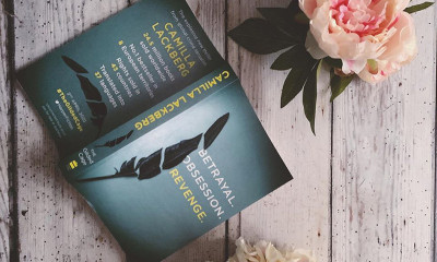 Free Copy of 'The Gilded Cage' by Camilla Lackberg