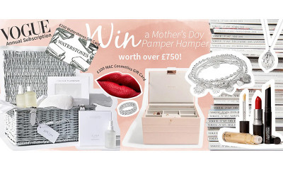 Win a Mother's Day Pamper Hamper worth £750