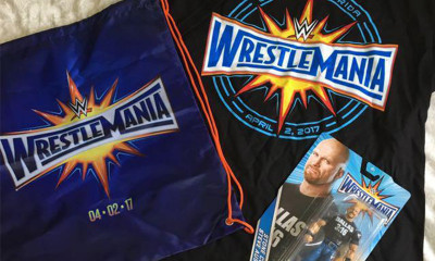Free WWE Goody Bag