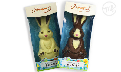 Free Easter Chocolate Bunnies from Thorntons