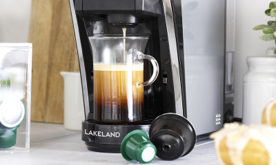 Win a Lakeland Coffee Machine & Milk Frother