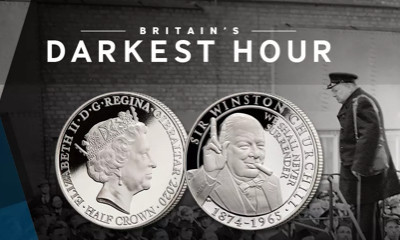 Free Winston Churchill Commemorative Coin