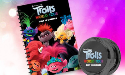 Free Trolls Notebook & YoYo