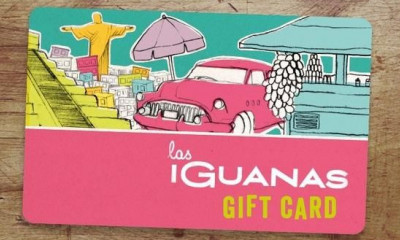 Win a £100 Las Iguanas Gift Card