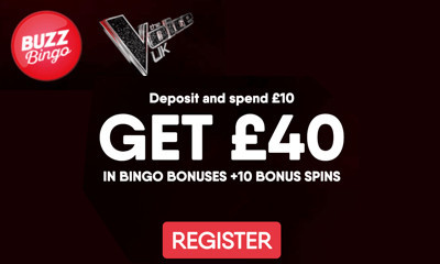 Free £40 of Bingo at Buzz Bingo