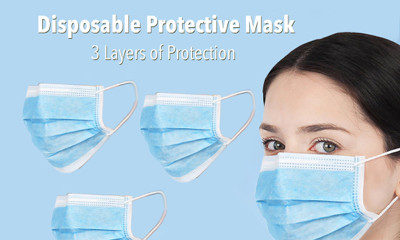 Free 3 Pack of Surgical Masks