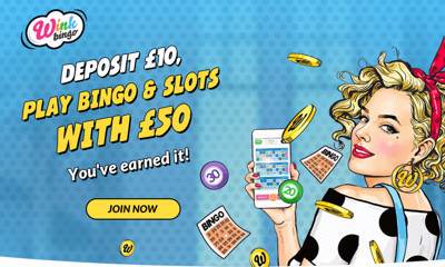 Free £40 of Bingo with Wink Bingo