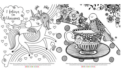 Free Colouring Pages for Kids and Grown-Ups