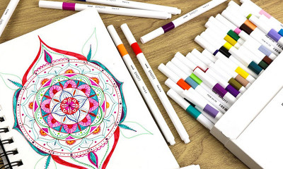 Free Colouring Pens from Uni-Ball