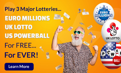 Play 3 Lotteries For Free