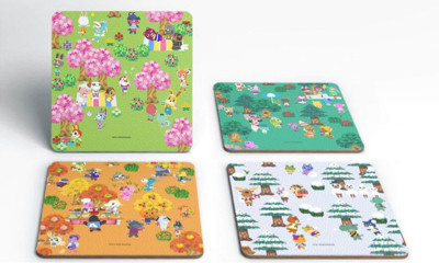 Free Nintendo Animal Crossing Coasters