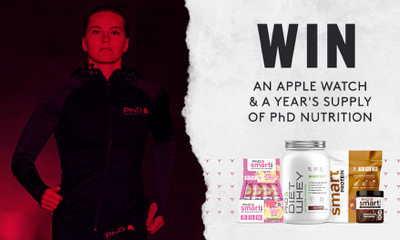 Win an Apple Watch and a Year's Supply of PhD Nutrition