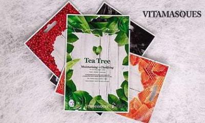 Free Vitamasques Face Mask - Freebie now expired!