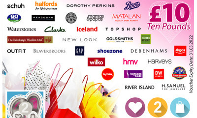 Free £10 Love2Shop Voucher