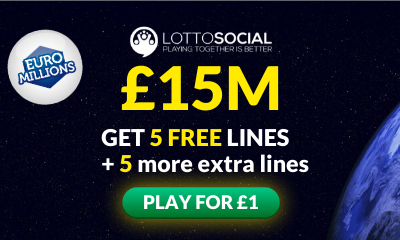 £15M Euromillions Jackpot - 10 Lines for £1