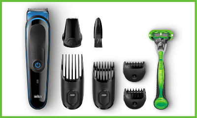 Free Braun Shaving Kit