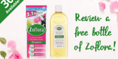 Free Bottles of Zoflora
