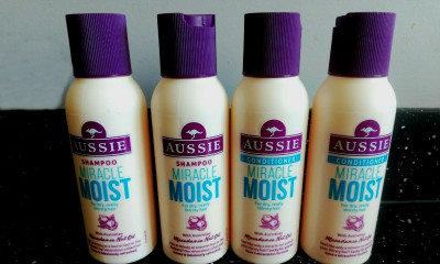 Free Aussie Shampoo & Conditioner