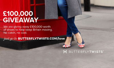 Free Butterfly Twist Shoes