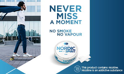 Free Can of Nordic Spirit Nicotine Pouches and Free Delivery