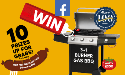 Win 1 of 10 BBQ's worth £300