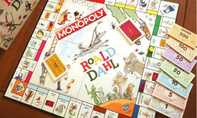 Free Roald Dahl Monopoly