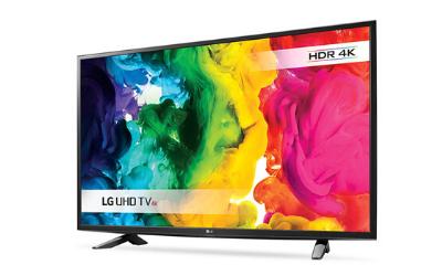 "Free 49"" LG Smart TV"