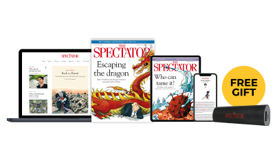 4 Free Issues of The Spectator & Free Portable Phone Charger