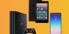 Win a PS4, Amazon Fire Tablet & A8 Smartphone