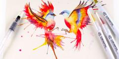 Free Watercolour Pens from Chromatek