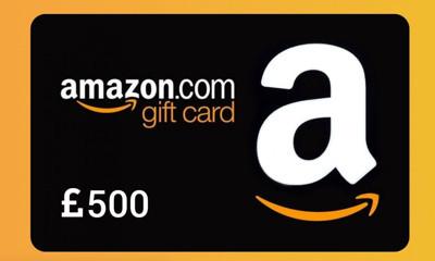 Win £500 in Amazon Vouchers