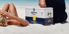 Free Corona Beer Cooler Box